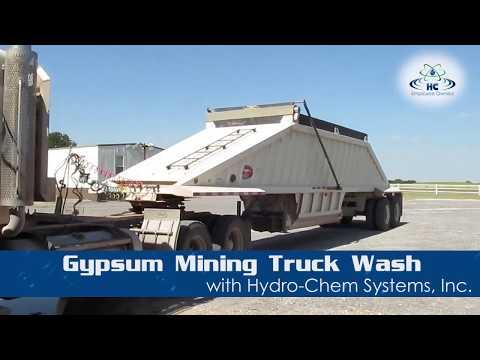 Gypsum Mining Truck Wash | Undercarriage Wash | Brushless Clean