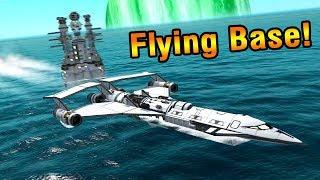 KSP: Flying Laboratory SEAPLANE to Laythe!