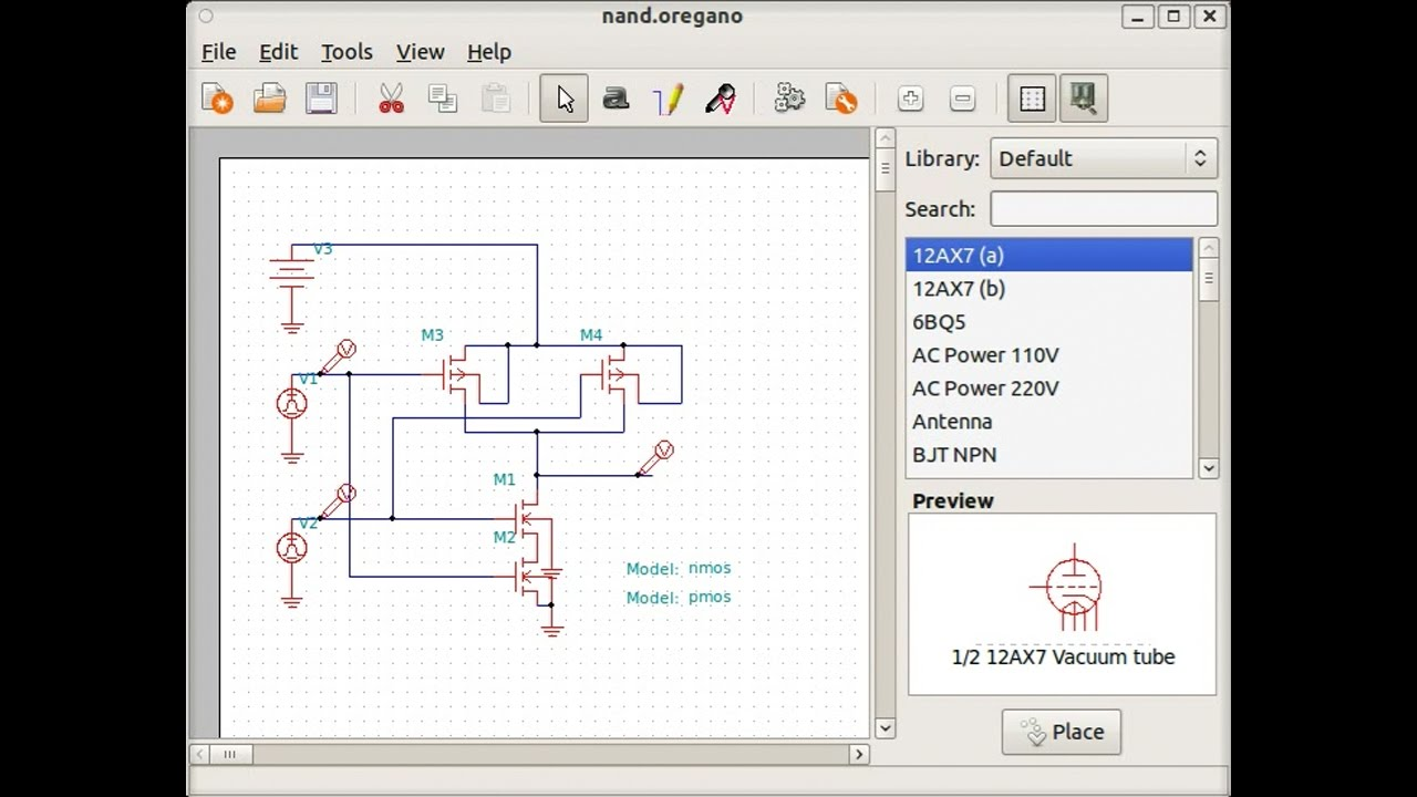 Circuit Diagram Of The Or Logic With Transistors