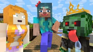 Love Story | The Minecraft Life of Alex & Steve #8 | Minecraft Animation