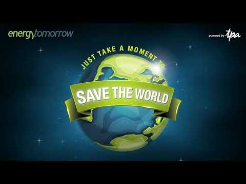 #Savethedate - 8. September 2021 - 10th Energy Tomorrow. Just take a moment to save the world