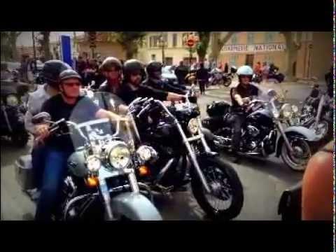 Parade Harley Davidson 2013 - 30ème Euro Festival à Saint-Tropez