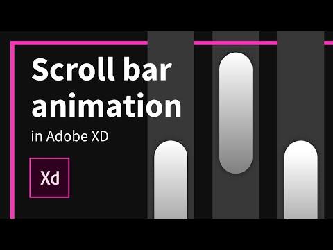 Flash scroll animation