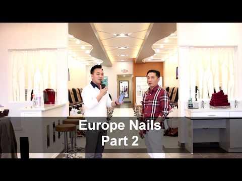NAIL SALON TOUR - EUROPE NAILS SPA FRANCHISE  PART 2 (Premier Version)