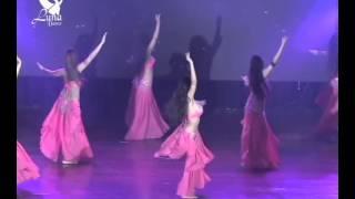 ELENCO DE LUNA DANCE EN EL SHOW ARAB, Y BELLYFEST PERU
