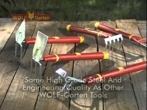 WOLF Garten Interlocken Garden Tools Overview   YouTube