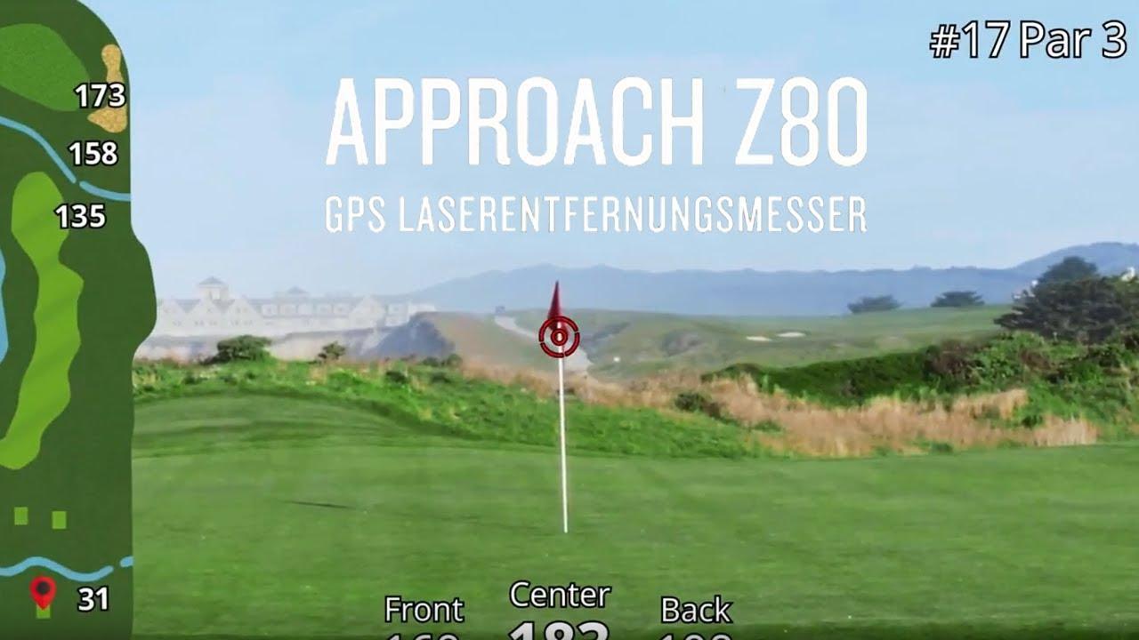 Garmin approach® z80 u2013 gps laserentfernungsmesser für den golfplatz