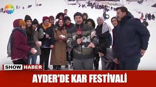 Gambar cover Ayder'de kar festivali