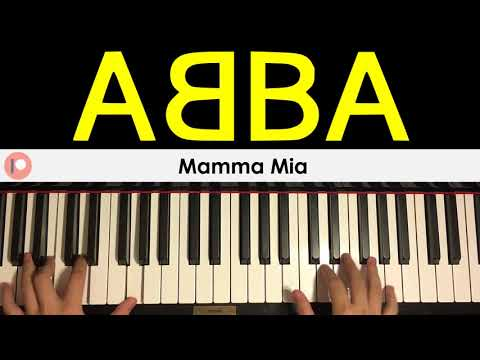 ABBA - Mamma Mia (Piano Cover) | Patreon Dedication #351