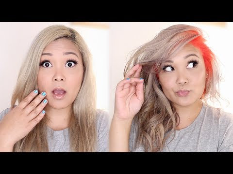 I LET MY HAIRSTYLIST SURPRISE ME WITH A CRAZY COLOR