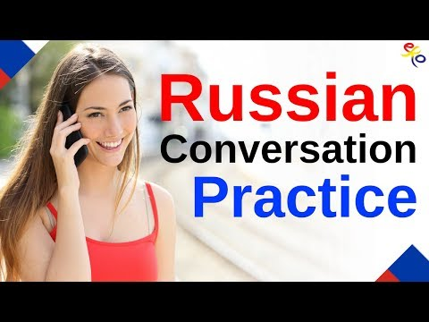 Learn Russian ||| Daily Russian Conversation Practice ||| English/Russian