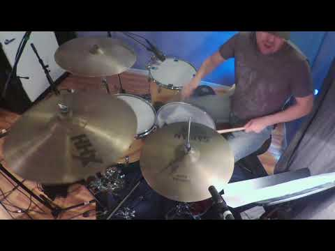 Recording drums for TV Composer and Producer, Nick Nolan