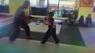 4 years old Muay Thai kid!