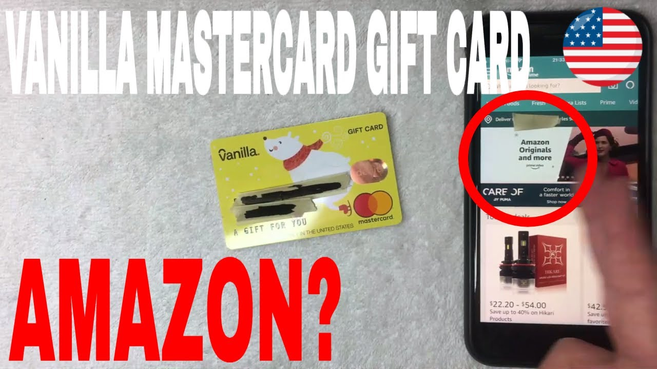 Can You Use Vanilla Mastercard Gift Card On Amazon Youtube