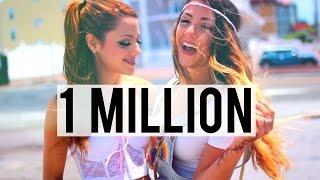 One Million Subscribers | Niki and Gabi