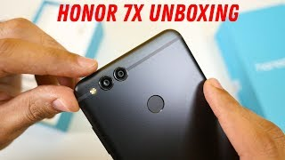 Honor 7X Unboxing and Initial Impressions
