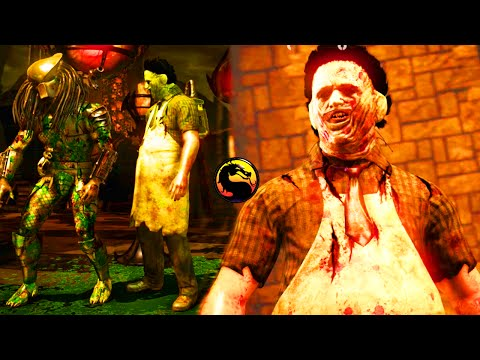 "YOU CAN'T RUN FROM LEATHERFACE - Mortal Kombat X ""Leatherface"" Gameplay (MKXL Ranked)"