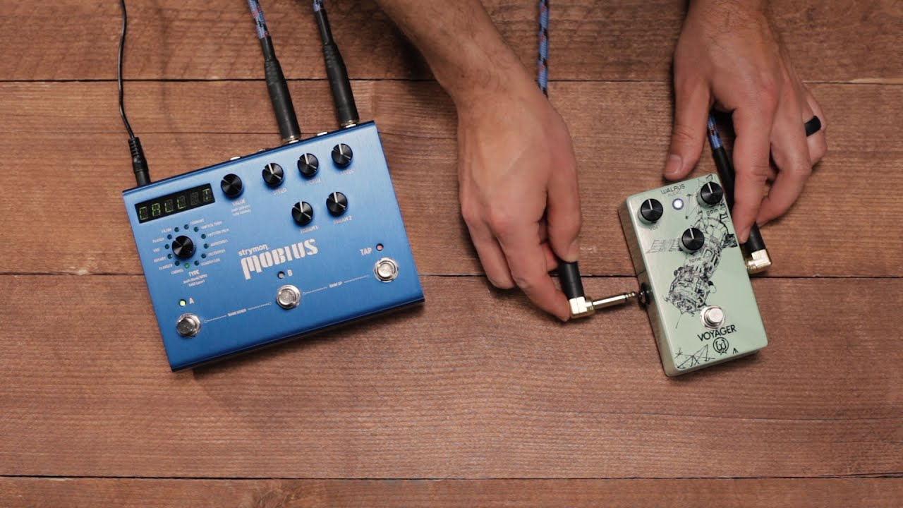 Using Mobius Pre Post With Your Guitar Pedals Youtube For Volume Pedal Wiring Diagram