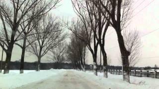 Trafic soseaua Cernica si drumuri satesti.27 ianuarie 2012