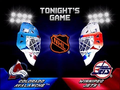 2 on 2 Open Ice Challenge ARCADE Playthrough Colorado Avalanche vs Winnipeg Jets