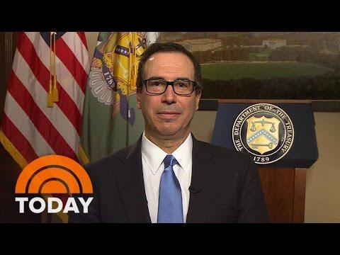 Steven Mnuchin: President Trump's Tax Cut 'Is All About Jobs, Jobs, Jobs' | TODAY