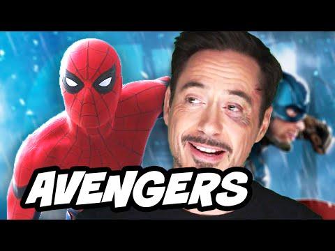 Spider Man Homecoming Avengers Easter Egg