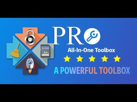 All In One Toolbox Cleaner Speed Booster Pro Очистка системы Андроид.