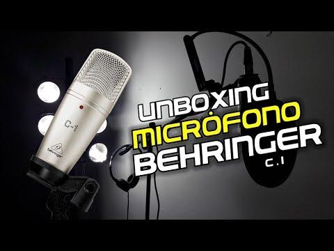behringer c1 micr fono de condensador tutorial unboxing hd youtube. Black Bedroom Furniture Sets. Home Design Ideas