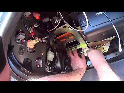 BMW E38 Navigation Mk2 to Mk4 upgrade (new edit)