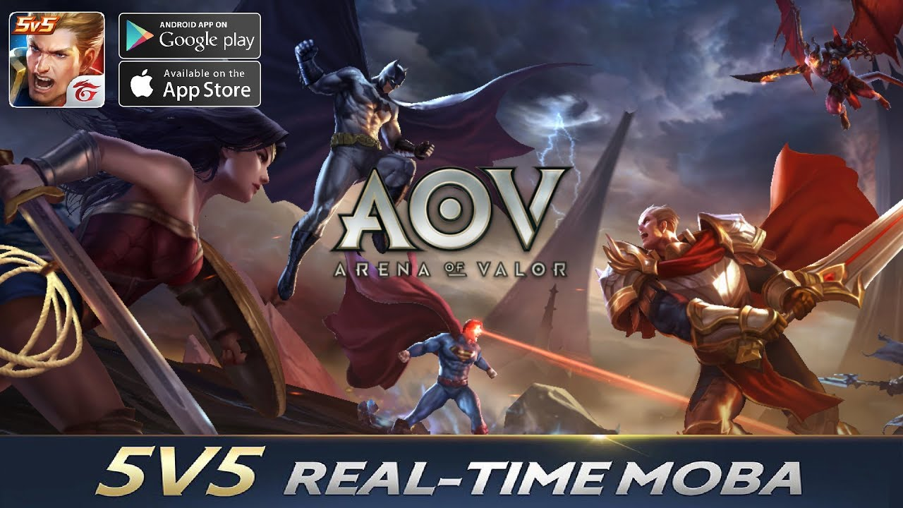 Garena Aov Arena Of Valor Moba Gameplay Android Ios