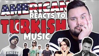 American REACTS // Turkish Music