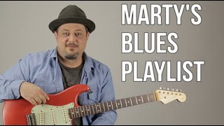 Marty  Blues Playlist Introduction