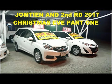 SUNDAY 24th DECEMBER 2017 CHRISTMAS EVE PART 1 JOMTIEN AND 2nd RD