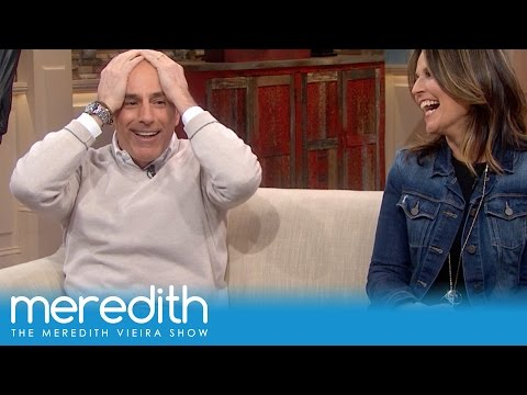Meredith Found Sex Toys In Matt Lauer's Office? | The Meredith Vieira Show thumbnail