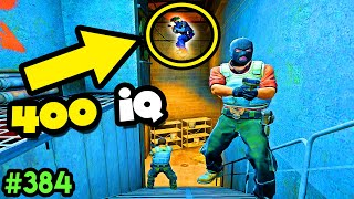 400 IQ INVISIBLE PIXEL SPOT! - CS:GO BEST ODDSHOTS #384