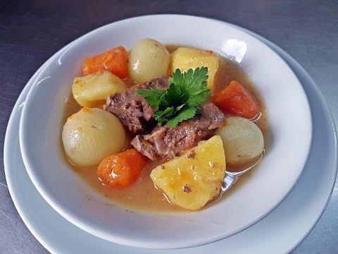 Vegetable  Beef Meat Boiled Recipe Healthy Easy