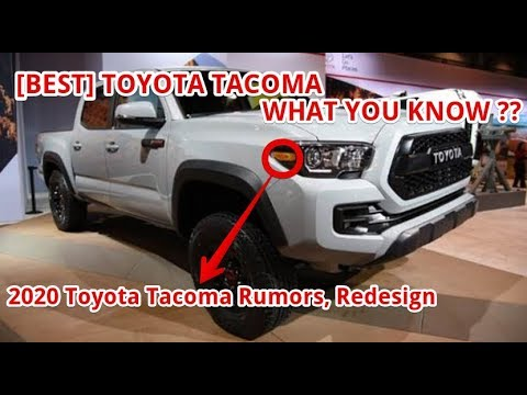 2021 Toyota Tacoma Redesign, Changes, TRD Pro, And Colors >> Best 2020 Toyota Tacoma Rumors Redesign