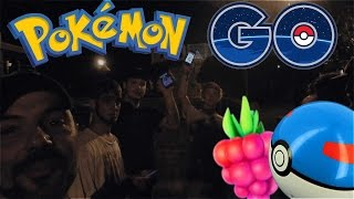Pokemon GO NIGHT TIME HUNTING & MAKING FRIENDS! - Pokemon Go Gameplay Free HD Video