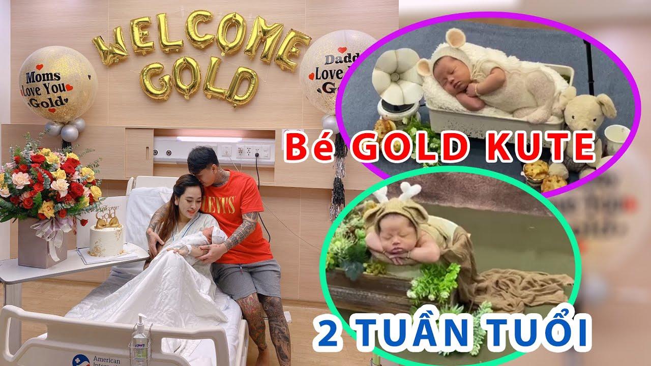 Bé GOLD được 2 tuần tuổi quá Kute mấy cô chú ơi | Hồ Xuân Hương Official