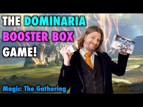 Let's Play The Dominaria Booster Box Game for Magic: The Gathering!