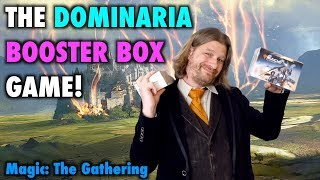 lets play the dominaria booster box game for magic the gathering