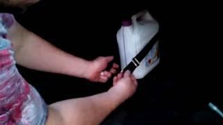 Багажный карман в авто - багажные ремни