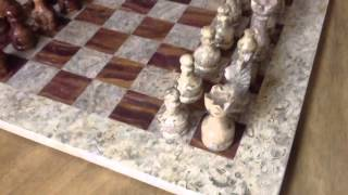 16x16 Marble Chess Set