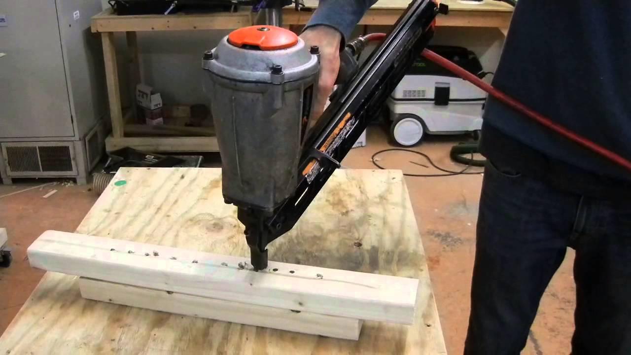 Paslode Pneumatic Framing Nail Gun For Sale On Ebay Youtube