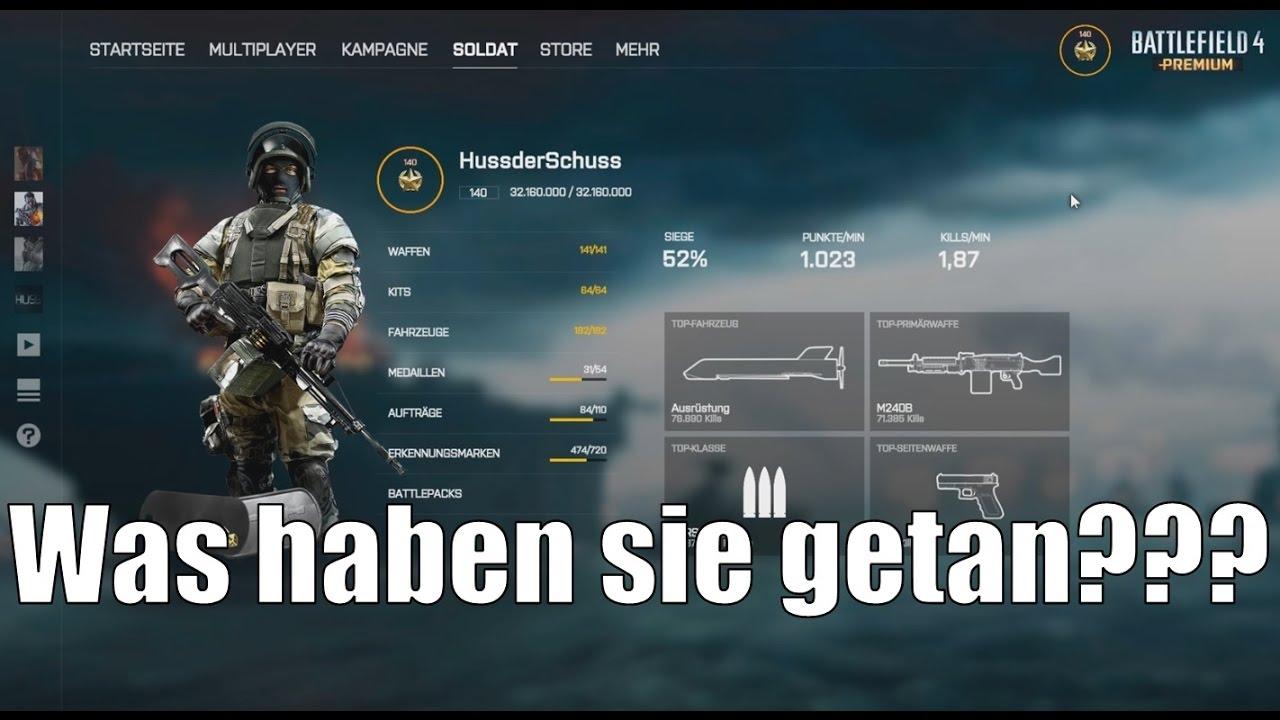 battlefield 1 benutzeroberfläche