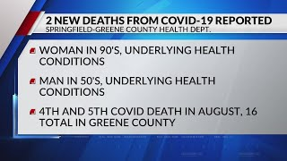 Two new deaths from covid-19 reported ...