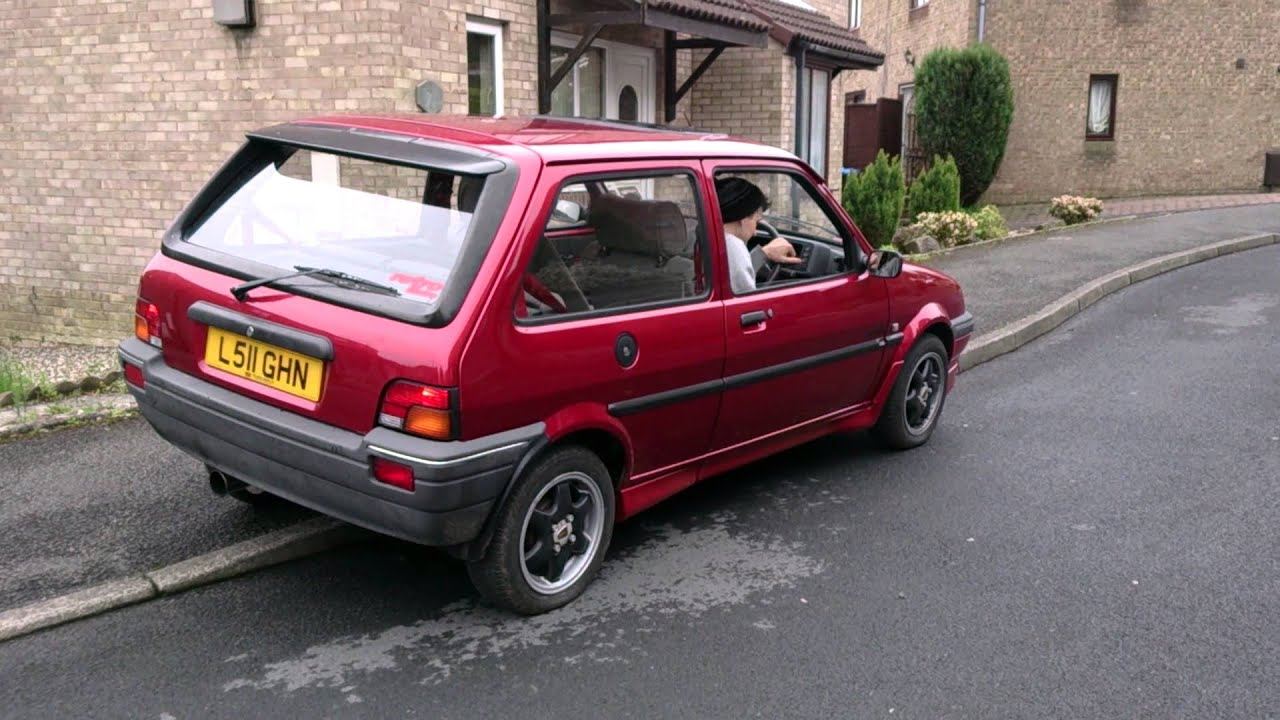 Rover Metro Gti Exhaust Popping Decat Youtube