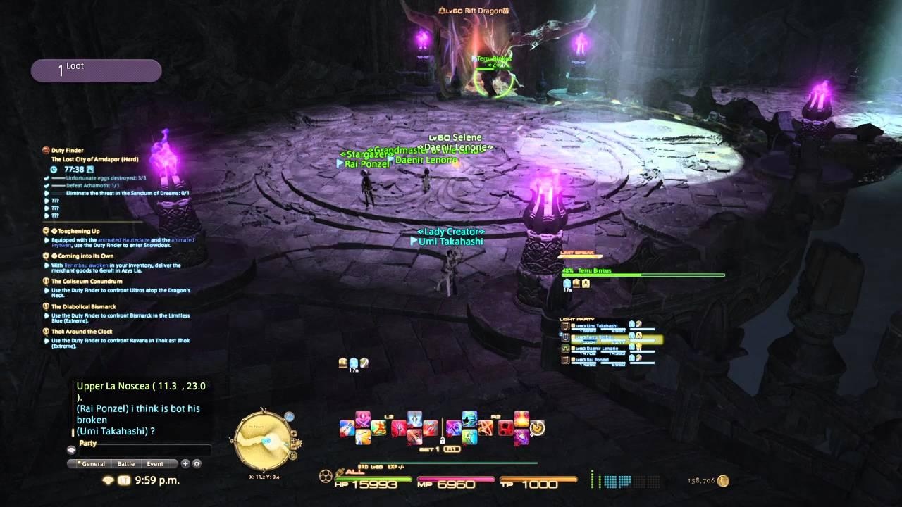 FFXIV - Bot In My Dungeon Run