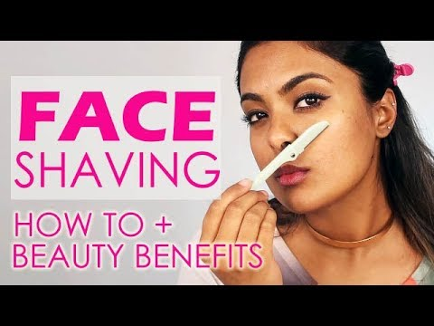 Image result for womens face shaving