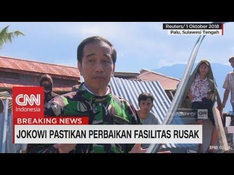 Jokowi Pastikan Perbaikan Fasilitas Rusak